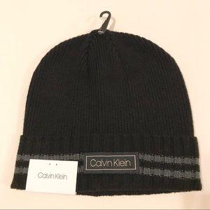 Brand New Calvin Klein Beanie Hat Black